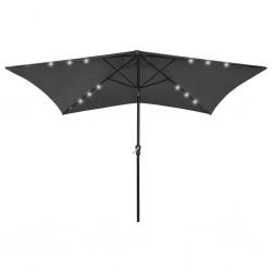 vidaXL Felpudo lavable azul cian 120x180 cm