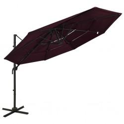 vidaXL Mesa de comedor con patas en H madera reciclada 180x90x77 cm