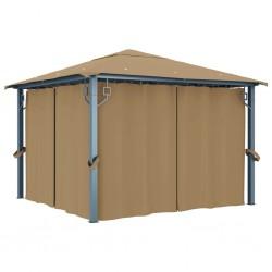 vidaXL Carro remolque inclinable de tractor de jardín carga de 150 kg