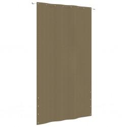 vidaXL Toldo lateral de balcón multifuncional 150x200 cm negro