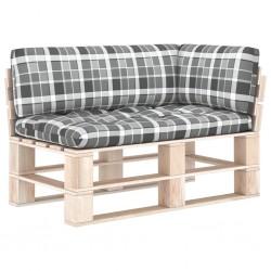 vidaXL Alfombrilla autoadhesiva escalera 15 uds negro gris 65x21x4 cm