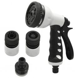 vidaXL Alfombrilla autoadhesiva de escalera 15 uds marrón 65x21x4 cm