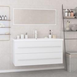 vidaXL Altavoces estéreo de pared 2 uds blanco interior/exterior 100 W