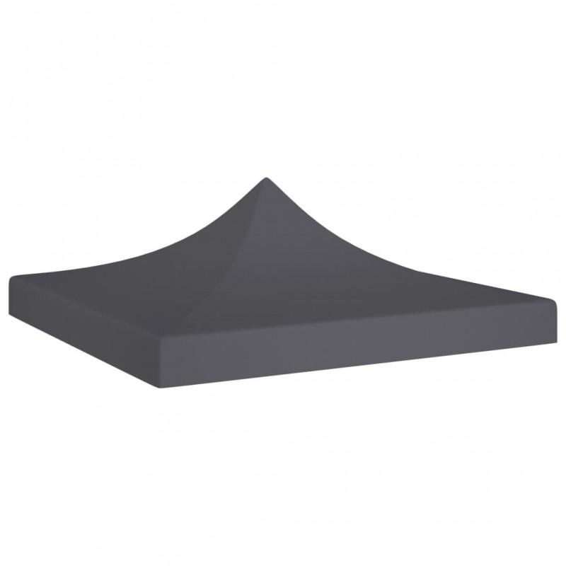 vidaXL Set calentador de comida para buffet 3 piezas acero inoxidable