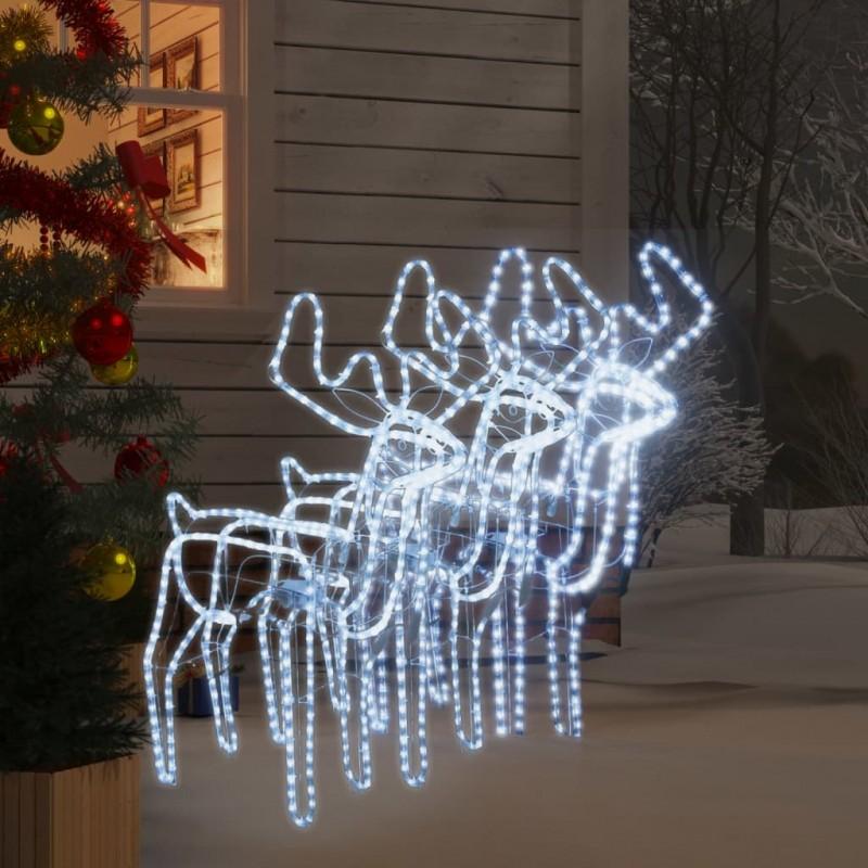 vidaXL Conjunto de sofá modular 15 piezas tela de rayas