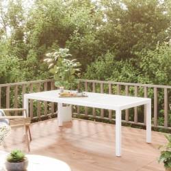 vidaXL Aparador de madera maciza de acacia y MDF 90x33,5x75 cm