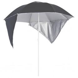 vidaXL Mesita de noche puerta tallada madera mango rugosa 40x30x50 cm