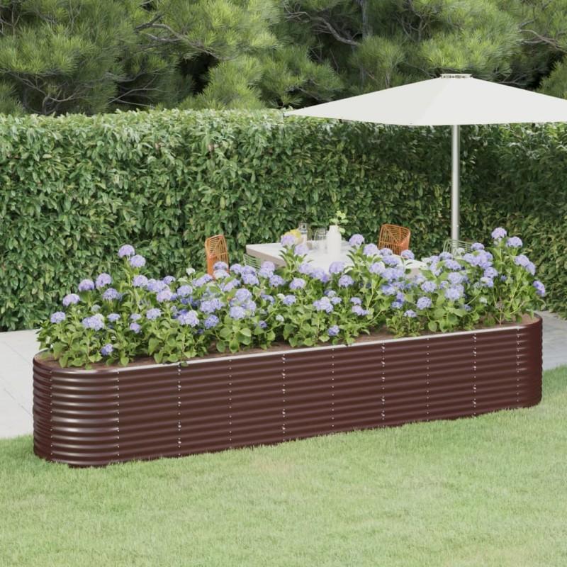vidaXL Aparador de madera maciza de acacia y MDF 90x33,5x8 cm