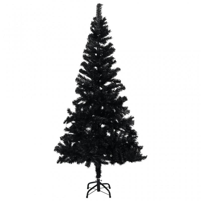 vidaXL Estructura de escritorio motorizada altura ajustable negro
