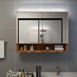 vidaXL Estructura de cama con 4 cajones madera de pino gris 180x200 cm