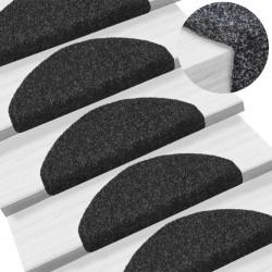 vidaXL Caja fuerte mecánica de acero gris oscuro 23x17x17 cm