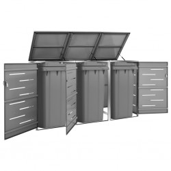 vidaXL Espejo de pared de baño con LED 60x50 cm