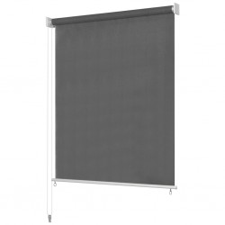 vidaXL Mesa de centro madera maciza de mango rugosa gris 100x60x40 cm