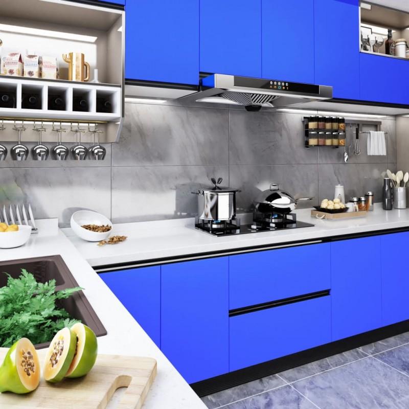 vidaXL Estructura de banco de trabajo 2 uds metal 85x(69-95,5)cm gris