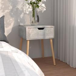 vidaXL Aparador de madera de mango rugosa 45x32x110 cm