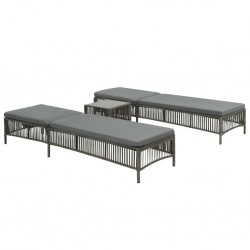 vidaXL Mueble para TV de madera maciza de mango 130x30x52 cm
