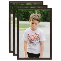 vidaXL Estante de pared flotante con cajón negro 48x25x8 cm