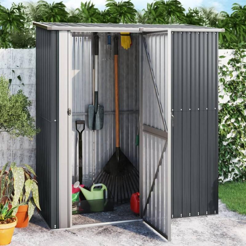vidaXL Grifo para bañera de pie acero inoxidable negro 90 cm
