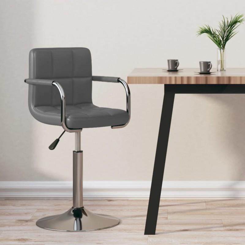 vidaXL Estante estantería 4 uds aglomerado gris hormigón 40x10x1,5 cm