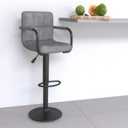 vidaXL Estantes estantería 8 uds aglomerado gris brillo 40x40x1,5 cm