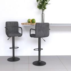 vidaXL Estantes estantería 4 uds aglomerado gris hormigón 40x50x1,5 cm