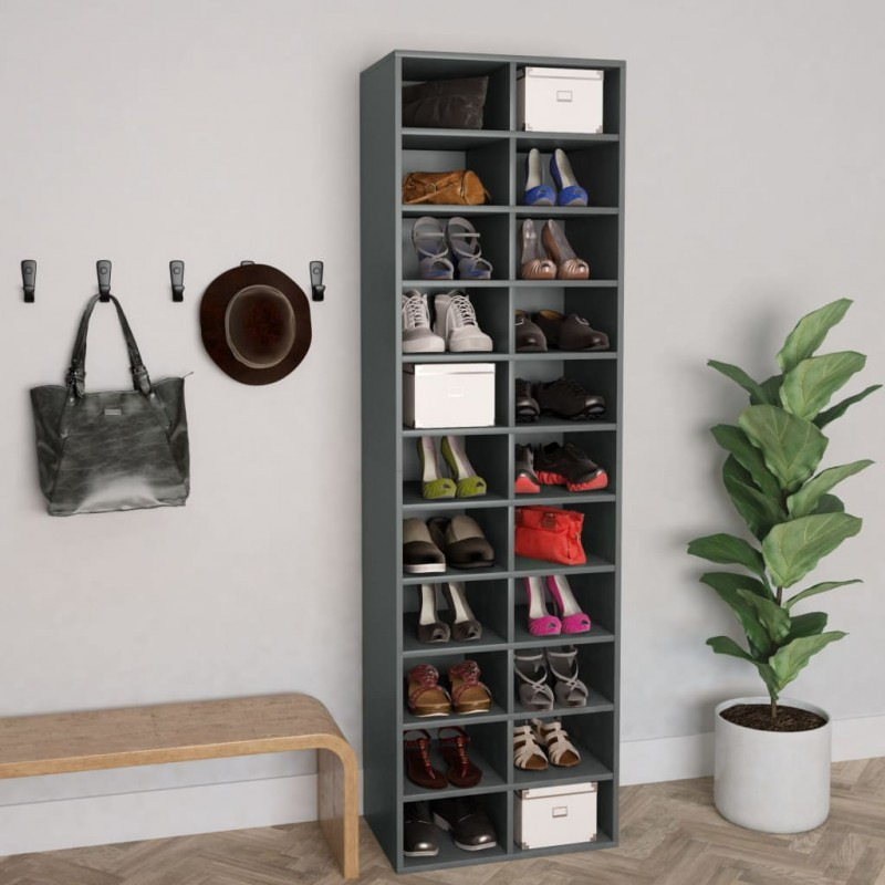 vidaXL Toldo para balcón tela oxford gris antracita 75x500 cm
