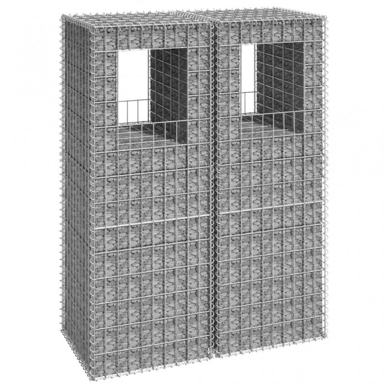vidaXL Armario archivador industrial de acero negro 90x40x100 cm