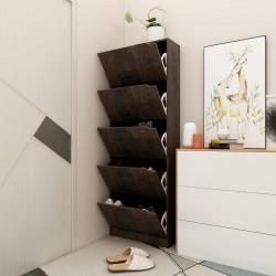 vidaXL Espejo de madera maciza de mango 50x50 cm
