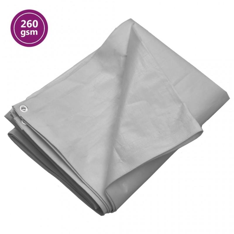 vidaXL Forro para carretilla de jardín tela verde