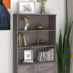 vidaXL Juego de muebles de cocina 7 piezas aglomerado negro