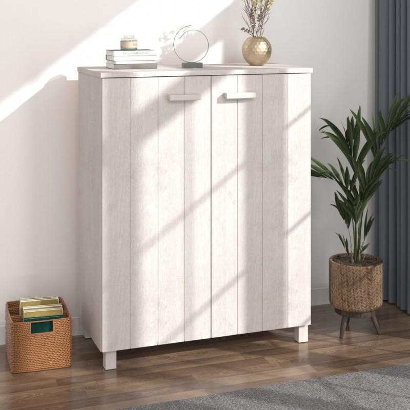 vidaXL Juego de muebles de cocina 7 piezas aglomerado gris brillo