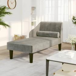 vidaXL Carrito trolley plegable multiusos para mascotas gris