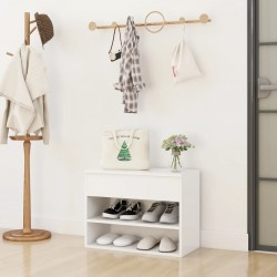 vidaXL Banco de jardín queen con cojín madera maciza de acacia 135 cm