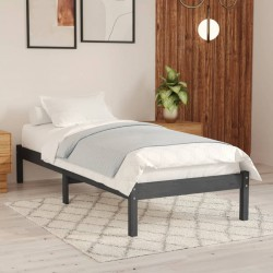 vidaXL Estructura de cama madera maciza pino marrón miel 120x200 cm