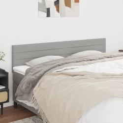 vidaXL Set muebles bar jardín 3 piezas y cojines ratán sintético gris