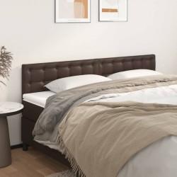 Hi Lámpara LED solar de jardín forma esférica metal marrón 18 cm