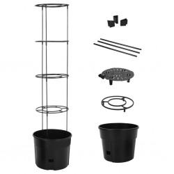 vidaXL Maleta para motos con capacidad para un casco 36 L