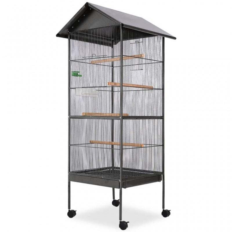 vidaXL Mesa alta de cocina con 4 sillas de barra negras