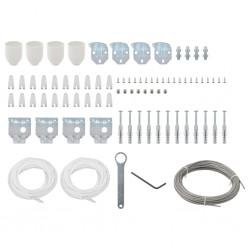 Tander Tocador con espejo de madera maciza reciclada 112x45x76 cm