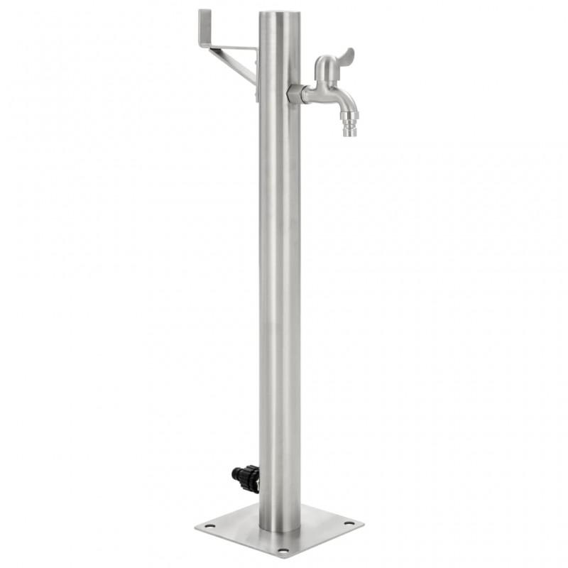 Tander Barbacoa grill de gas 4+1 quemadores negra y plateada