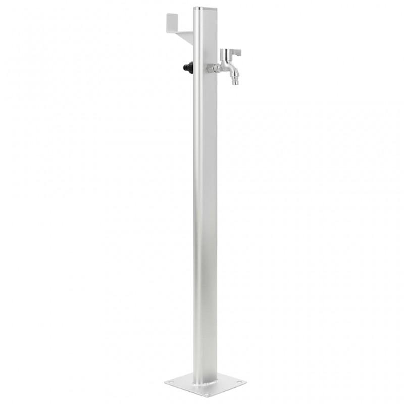Tander Barbacoa grill de gas 4+1 quemadores plateada