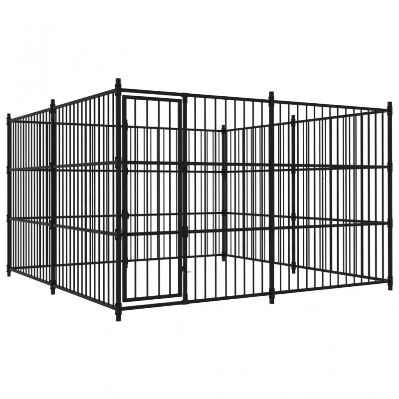vidaXL Jaula para pájaros madera maciza de pino y abeto 120x60x168 cm