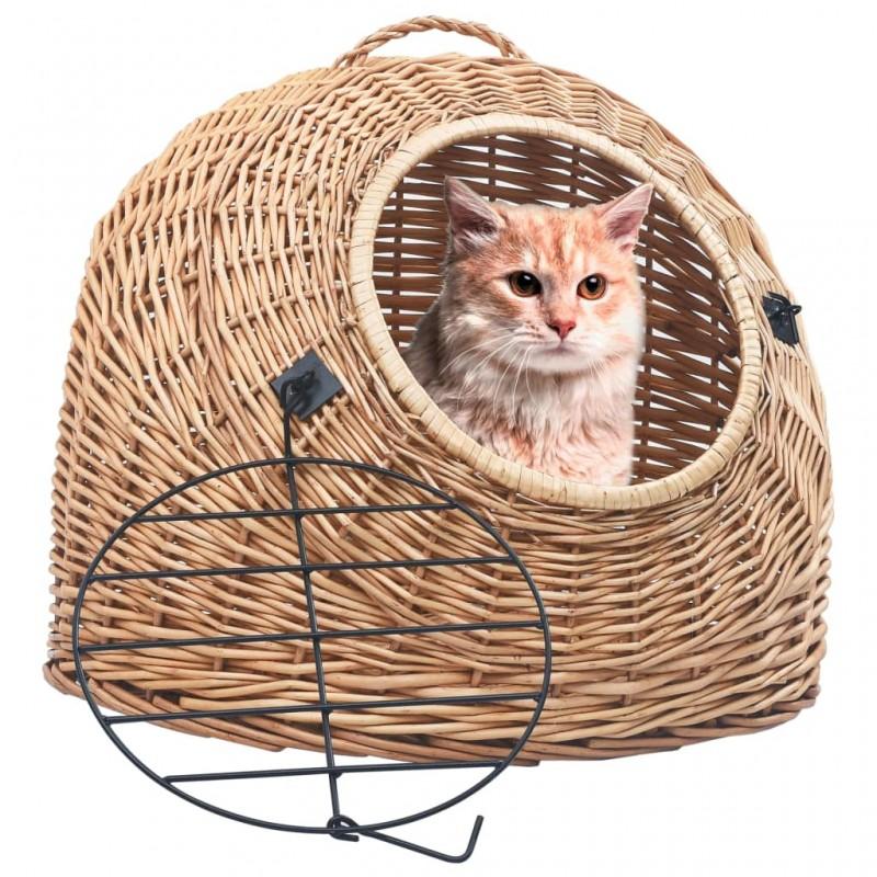 vidaXL Invernadero de madera 75x47x109 cm