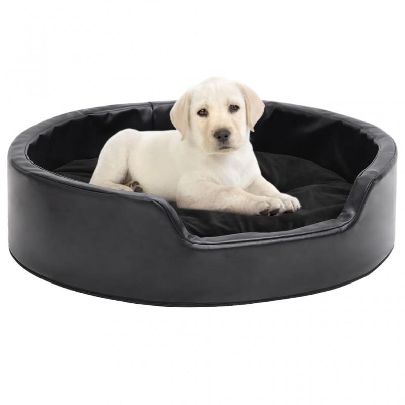 vidaXL Telón de fondo para fotografía algodón negro 300x300 cm
