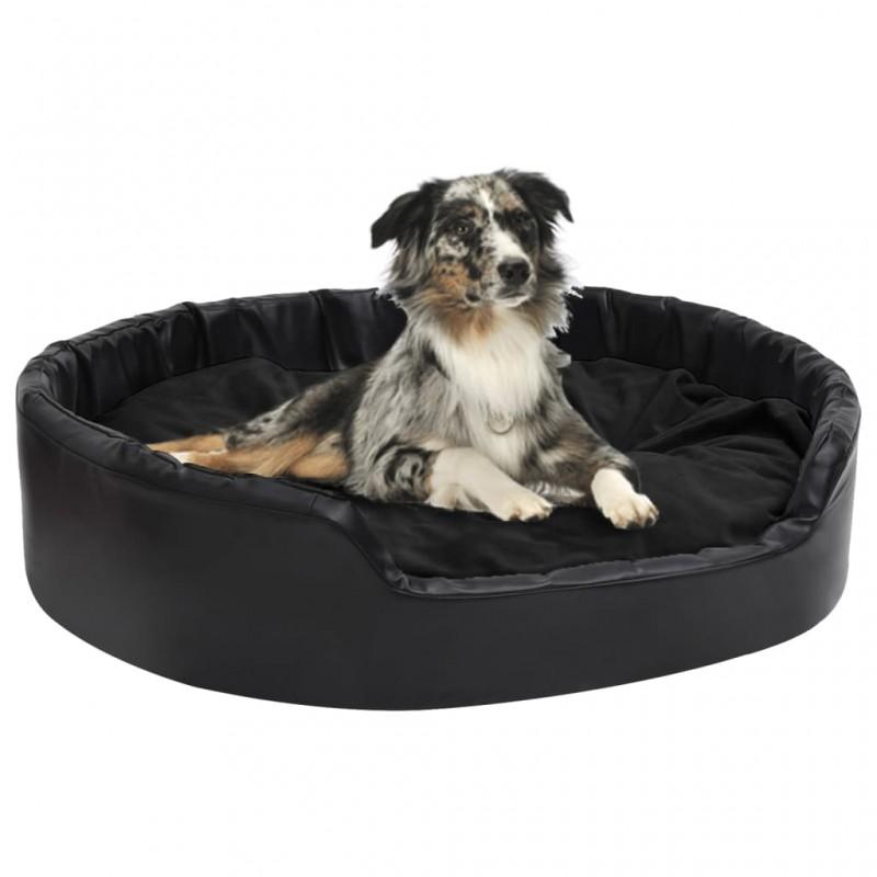 vidaXL Telón de fondo para fotografía algodón negro 500x300 cm