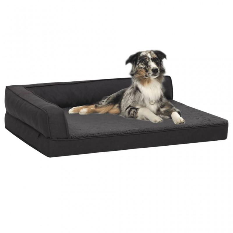 vidaXL Silla de escritorio reclinable Racing de cuero artificial negra
