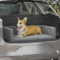vidaXL Silla de escritorio Racing reclinable con reposapiés negra