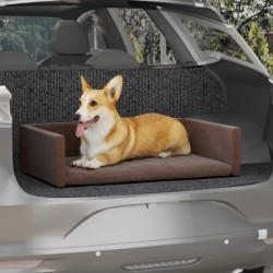 vidaXL Silla de escritorio Racing reclinable con reposapiés azul