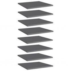 Tander Cojines para sillas de jardín 6 uds verde brillante 100x50x4 cm