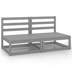 Tander Arenero con tejado de madera de pino impregnada 80x60x97,5 cm